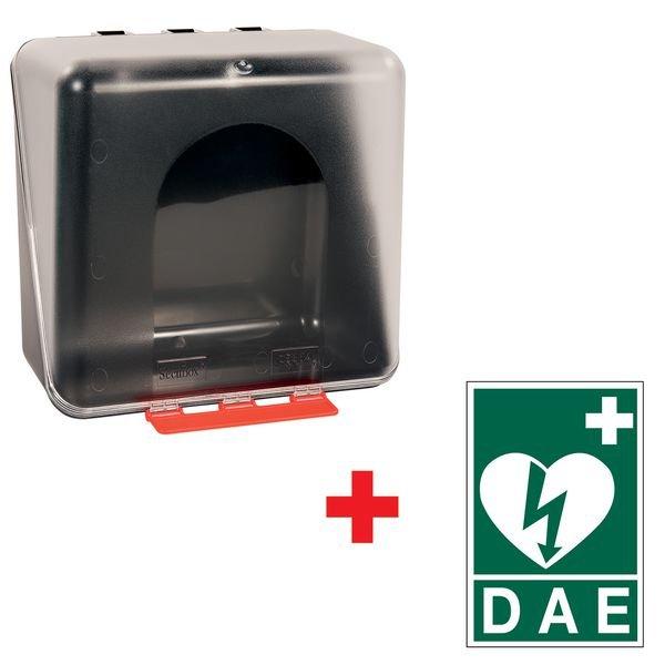 Kit armoire HS1 Box avec signalétique DAE