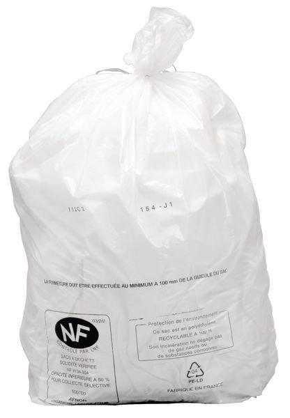 Sacs poubelles de 5 à 110 L en polyéthylène pur