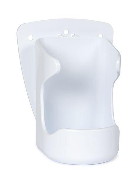 Supports muraux pour flacons gel hydroalcoolique