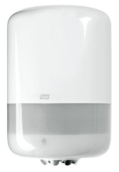 Distributeur papier à dévidage central Tork® - blanc