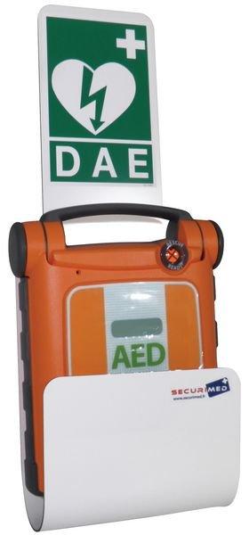 Station pour défibrillateur Powerheart G3 ou G5 - Armoires et supports de défibrillateur