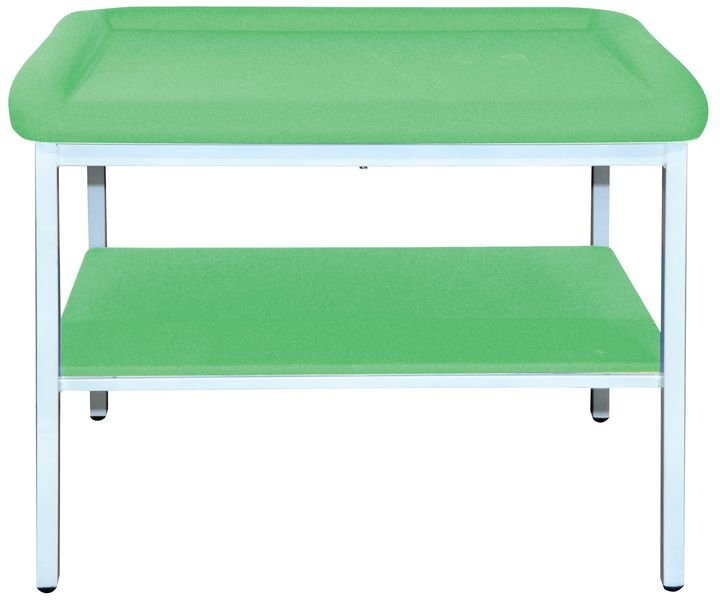 Table pédiatrique à tiroir et porte-rouleau en option