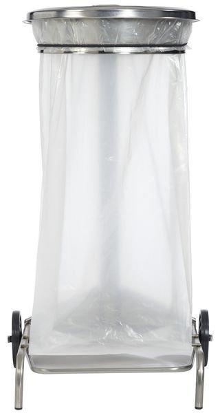 Support sac poubelle à pédale en inox - Poubelles (et sacs poubelles)