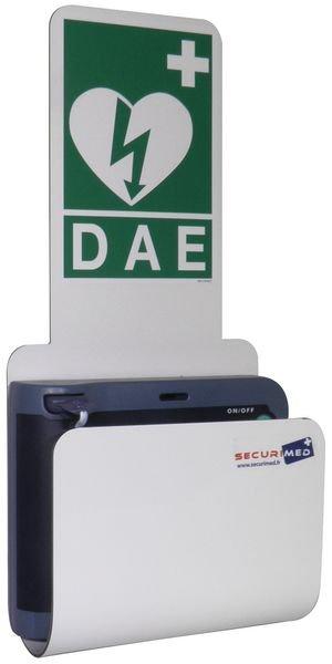 Station pour défibrillateur HeartStart HS1 ou FRX - Armoires et supports de défibrillateur