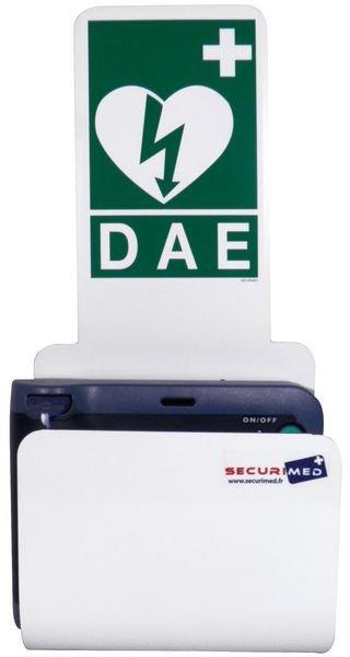 Station pour défibrillateur HeartStart HS1 ou FRX - Défibrillateurs