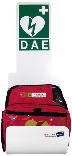 Station pour défibrillateur Zoll AED® Plus ou Schiller - Securimed