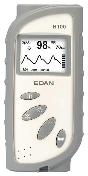 Coque de protection pour oxymètre de pouls Edan H100B
