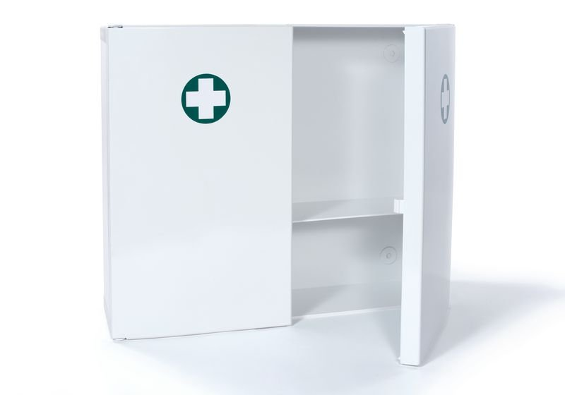 Armoire à pharmacie en ABS 2 portes - vide - Securimed