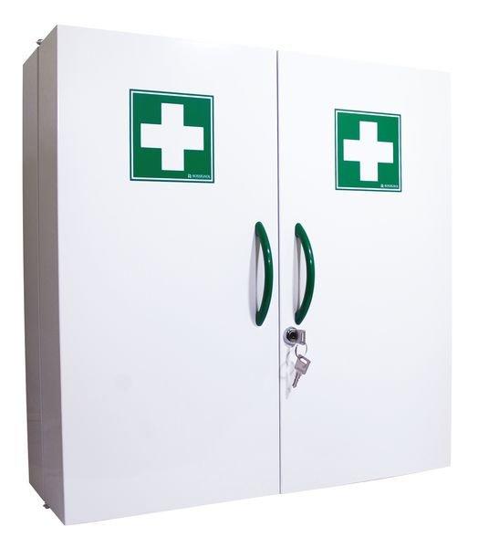 Armoire à pharmacie 2 portes en métal - vide
