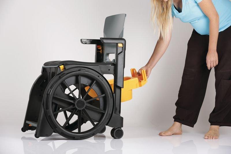 Bassin pour fauteuil roulant d'aisance - Securimed