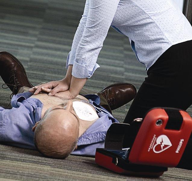 Défibrillateur HeartStart FRX - Défibrillateurs DSA DEA