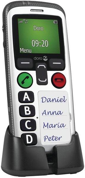 Téléphone mobile d'urgence DORO - Alarmes homme au sol / immobilité