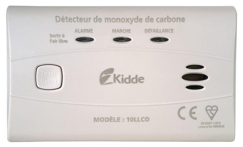 Détecteur monoxyde de carbone