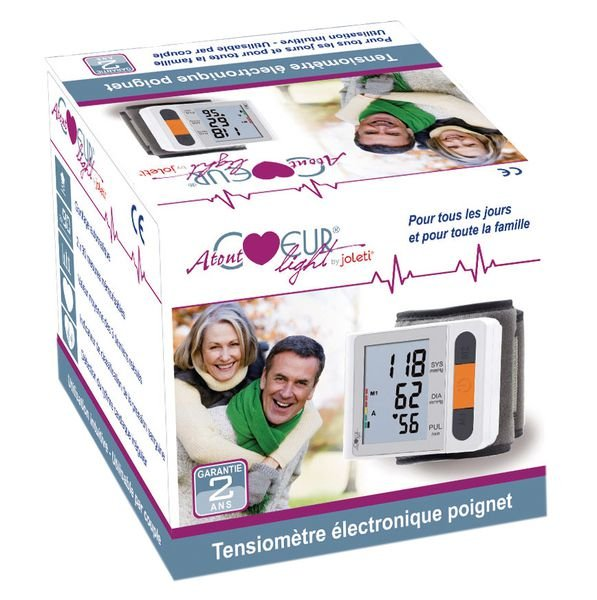 Tensiomètre électronique poignet Light - Securimed