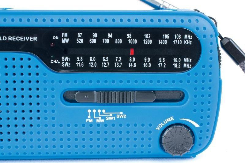 Radio lampe dynamo à piles - Trousses de secours