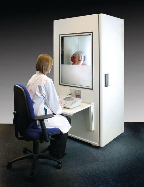 Cabine audiométrique 250 petit modèle IAC Acoustics - Securimed