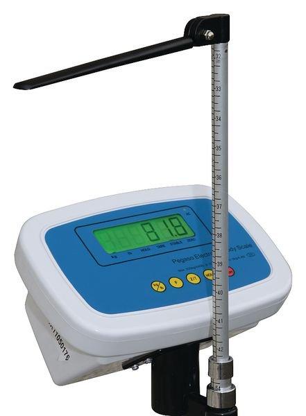 Pèse-personne électronique à colonne avec toise - Securimed