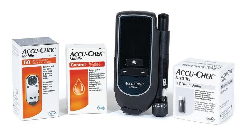 Lecteur de glycémie Accu Chek® Mobile - Securimed