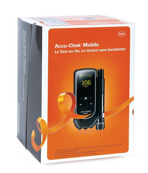 Lecteur de glycémie Accu Chek® Mobile - Lecteurs de glycémie
