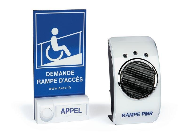 Kit carillon d'appel avec rampe d'accès ERP
