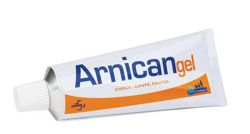 Arnican gel pour les coups