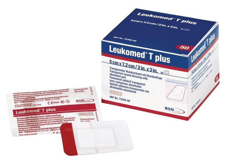 Pansement stérile Leukomed® T Plus transparent, par 50