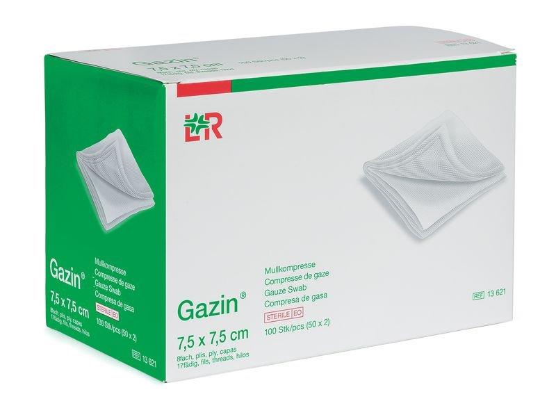 Sachet de 2 compresses de gaze stériles