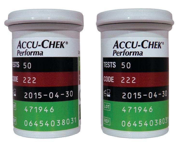 Bandelettes de glycémie Accu Chek® Performa et Nano - Securimed