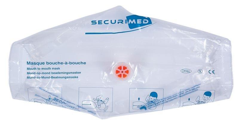 Masque bouche-à-bouche Réa Airmed Plus avec porte-clés - Securimed