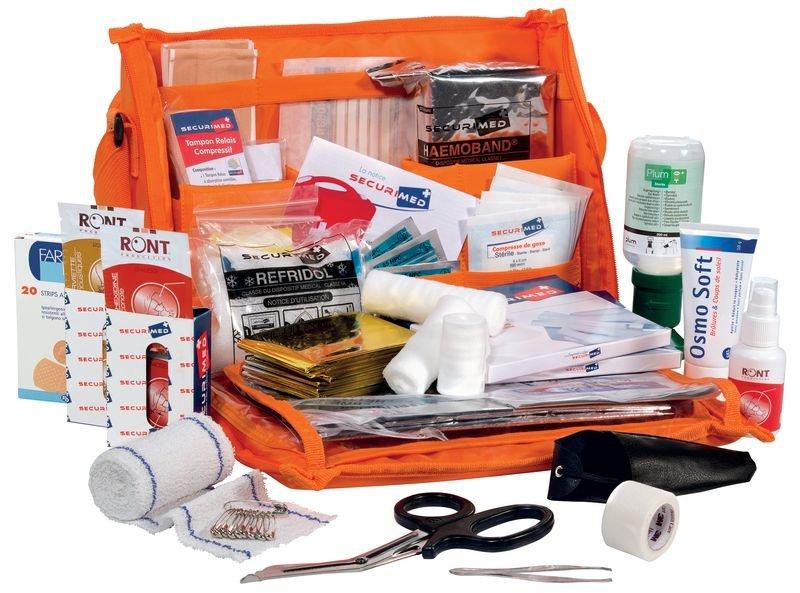 Sacoche médicale de soins d'urgence - Trousses de secours déplacement