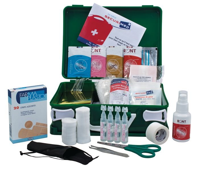 Trousse de secours industrie extractive