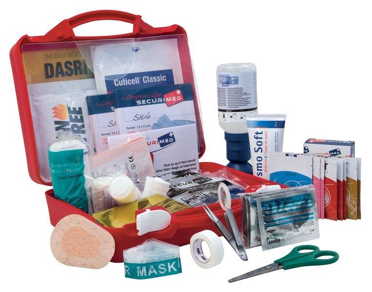 Trousse de secours industrie chimique - Trousses de secours industrie