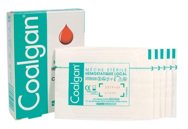 Tampon hémostatique Coalgan® - Securimed