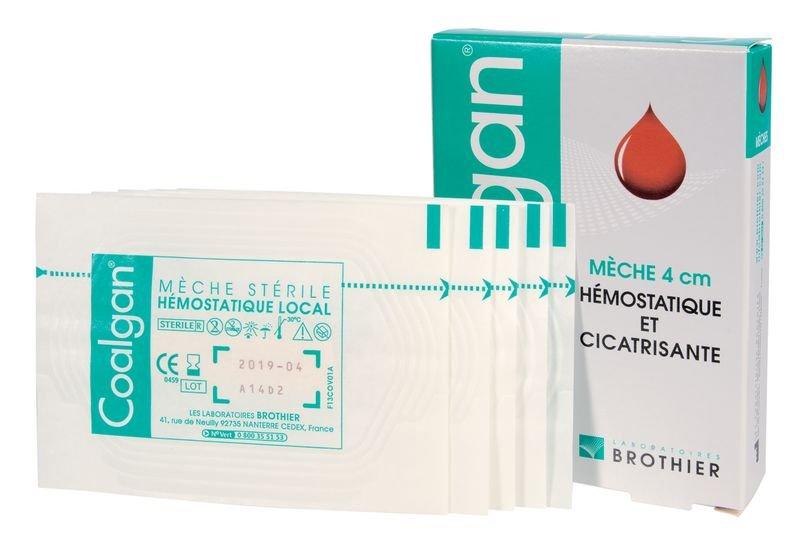 Tampon hémostatique Coalgan® - Pansements compressifs et hémostatiques