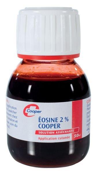 Eosine 2% en flacon 50 ml