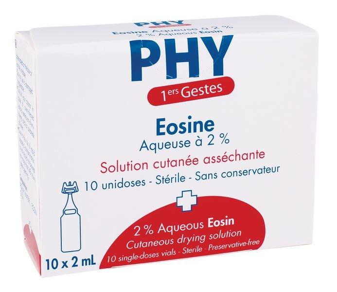 Eosine 2% en dosettes 2 ml - Désinfectants et nettoyants