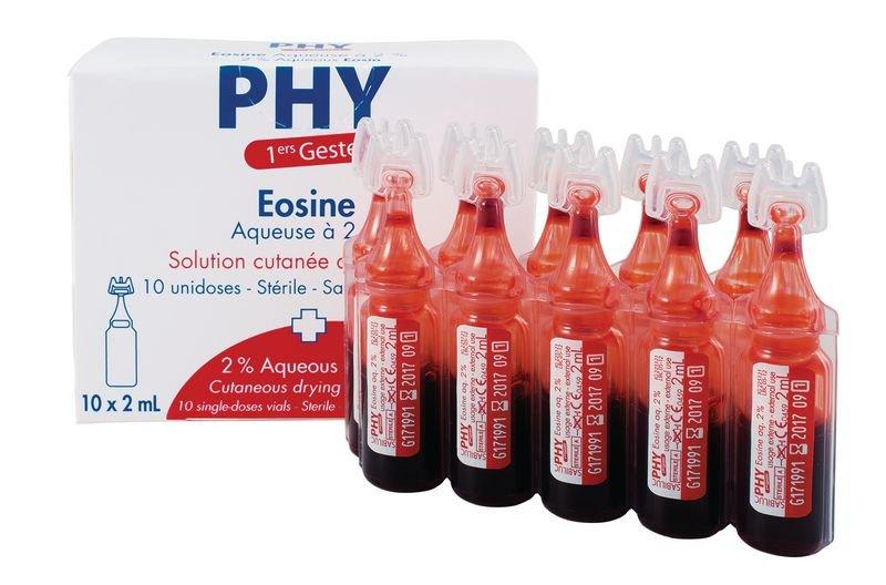Eosine 2% en dosettes 2 ml