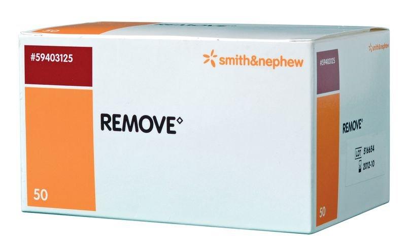 Tampons solvant Remove® pour adhésifs médicaux