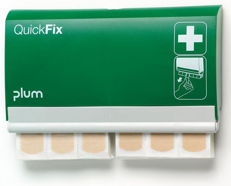 Distributeur garni pansements élastiques QuickFix Plum