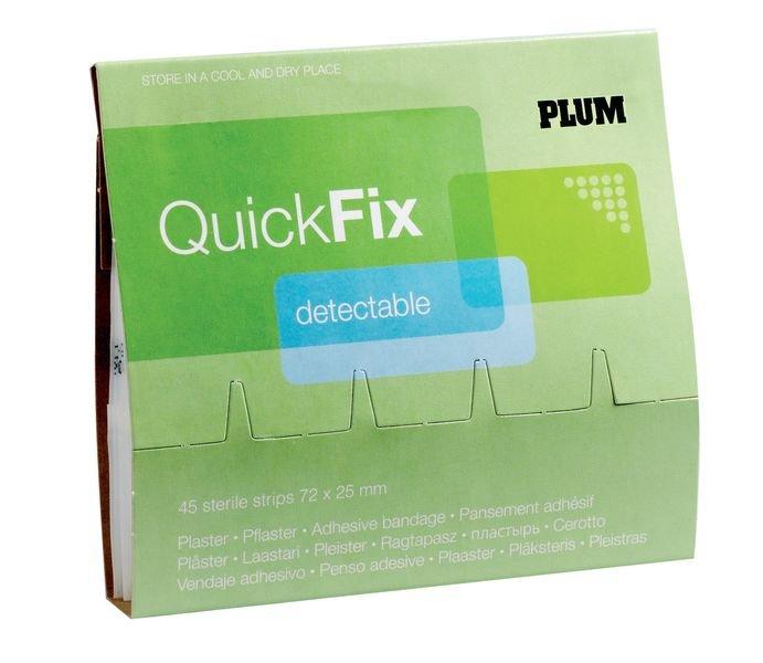 Recharge pansements bleus détectables QuickFix PLUM