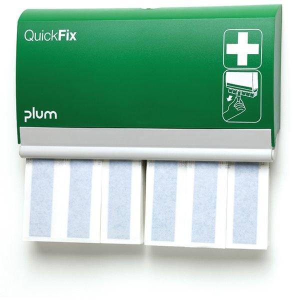 Distributeur garni pansements longs détectables Quickfix