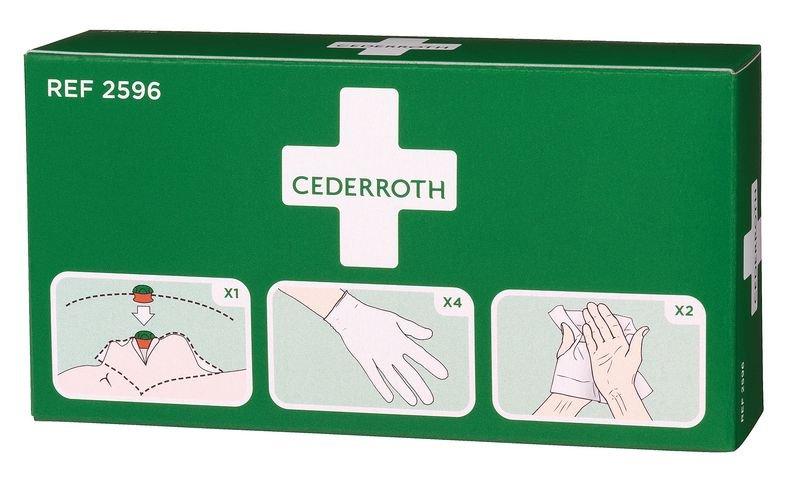 Kit de protection pour réanimation Cederroth