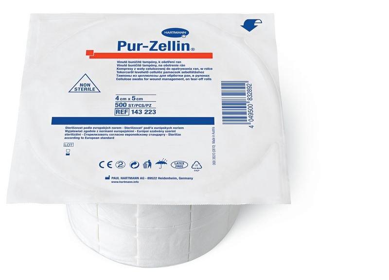 Tampons ouate de cellulose Pur-Zellin® en rouleau - Securimed