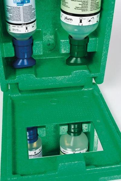 Coffret lavage oculaire 200 ml pH Neutral + 500 ml rinçage - Lave-œil - Rince-œil