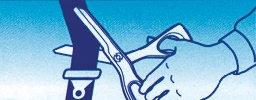 Ciseaux d'urgence multi-usages - Matériel d'urgence
