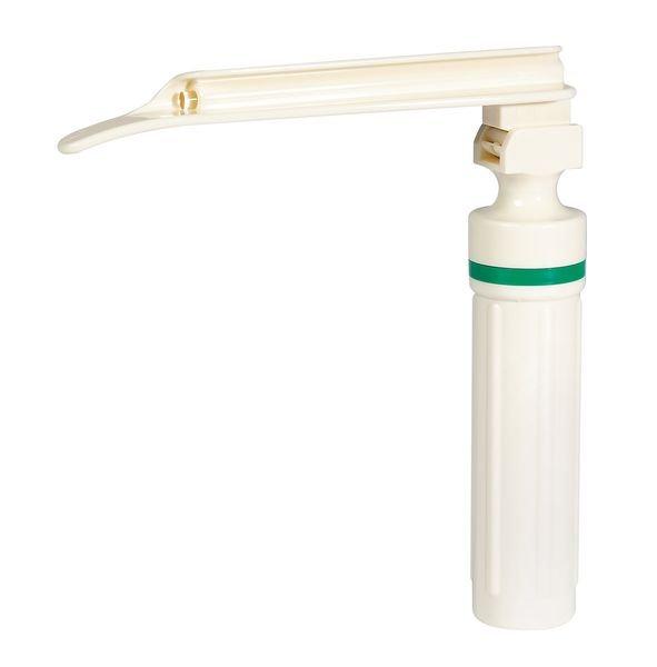 Laryngoscope polycarbonate à fibre optique