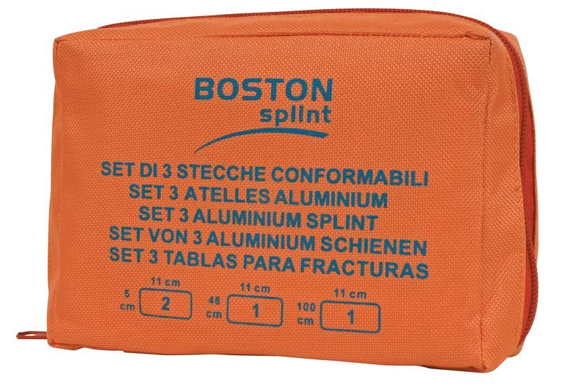 Set attelles modelables et réutilisables Boston Splint - Securimed