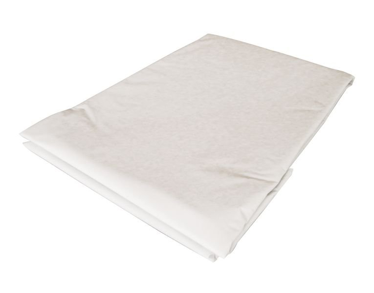 Drap housse coton blanc 1 personne