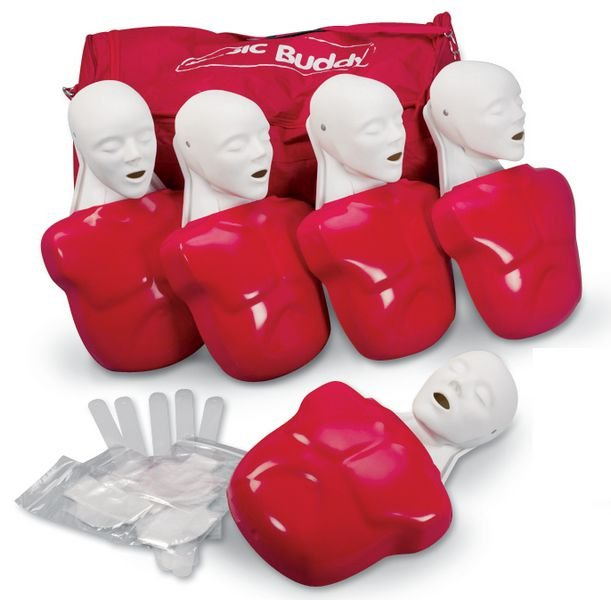 Kit 5 mannequins de secourisme Basic Buddy adulte