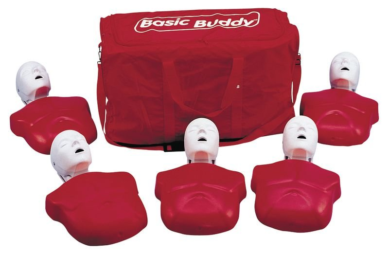 Kit 5 mannequins de secourisme Basic Buddy adulte - Securimed